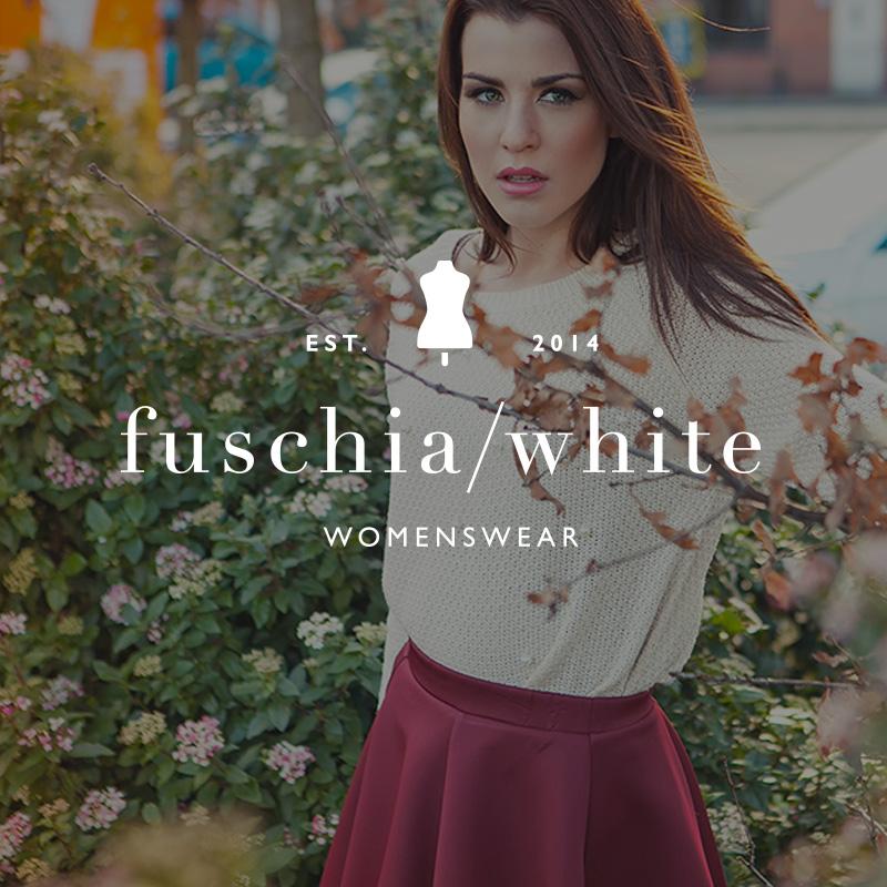 Fuschia-White